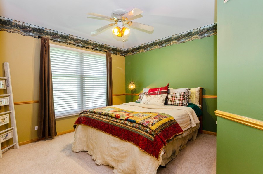 Real Estate Photography - 1710 Cambria, Algonquin, IL, 60102 - 2nd Bedroom