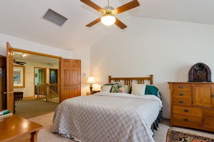 Real Estate Photography - 1710 Cambria, Algonquin, IL, 60102 - Master Bedroom
