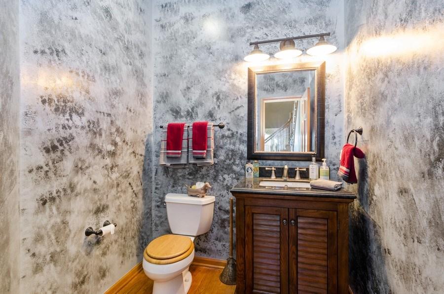 Real Estate Photography - 1710 Cambria, Algonquin, IL, 60102 - Powder Room