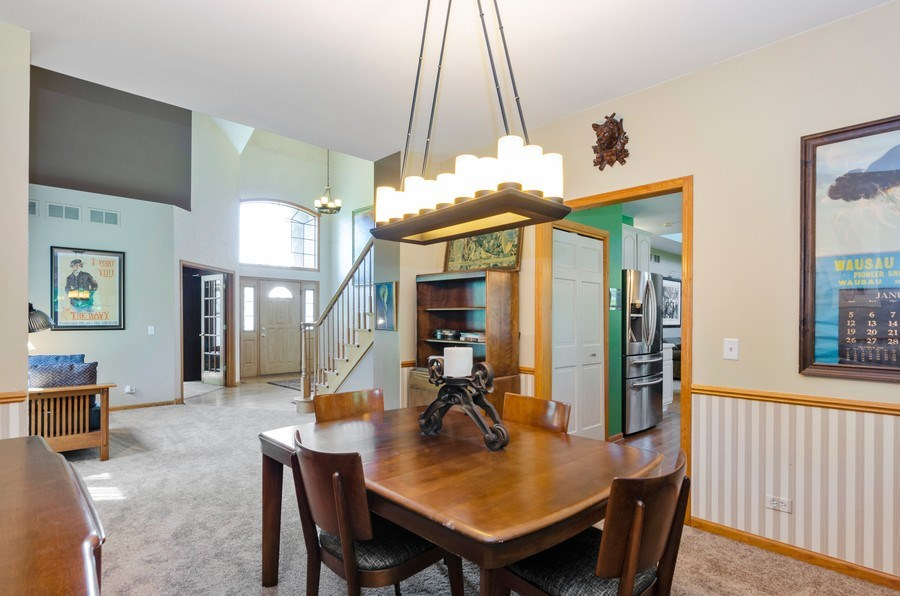 Real Estate Photography - 1710 Cambria, Algonquin, IL, 60102 - Dining Room
