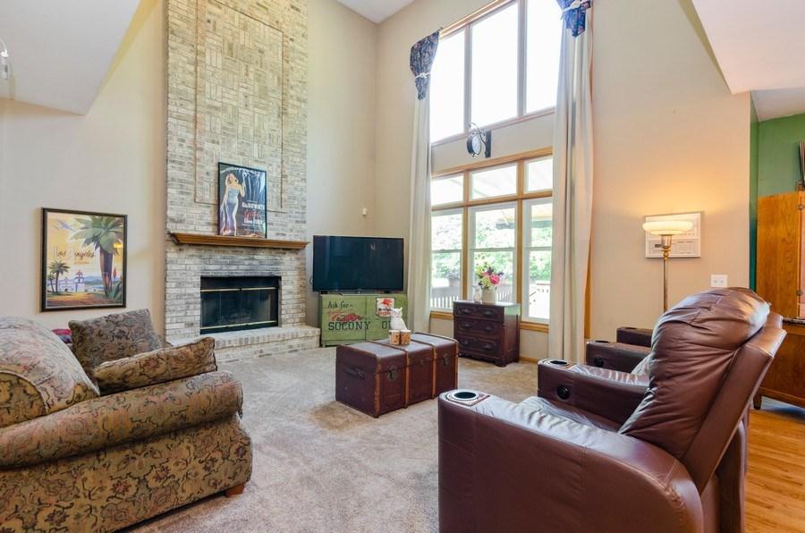 Real Estate Photography - 1710 Cambria, Algonquin, IL, 60102 - Family Room