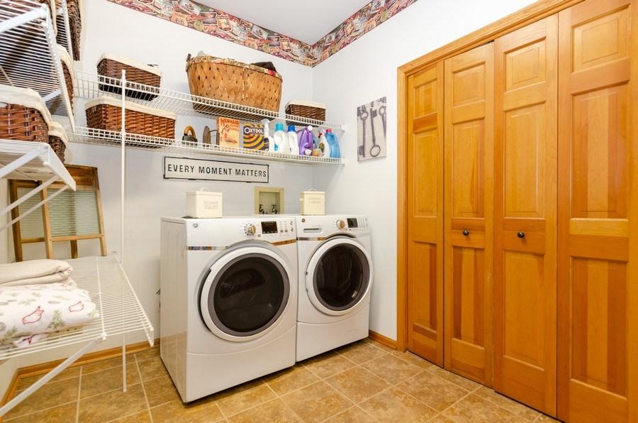 Real Estate Photography - 1710 Cambria, Algonquin, IL, 60102 - Laundry Room