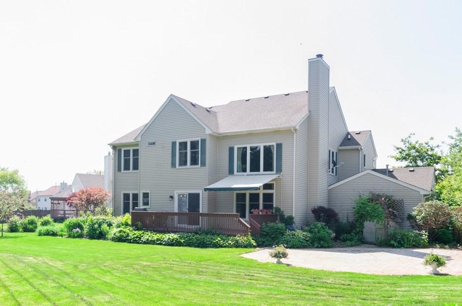 Real Estate Photography - 1710 Cambria, Algonquin, IL, 60102 - Rear View