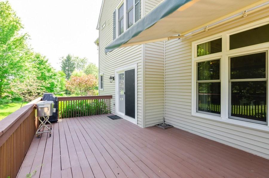 Real Estate Photography - 1710 Cambria, Algonquin, IL, 60102 - Deck