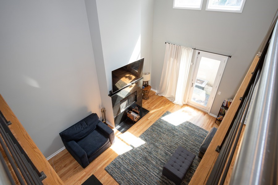 Real Estate Photography - 1136 N Morzart St, Chicago, IL, 60622 - Living Room