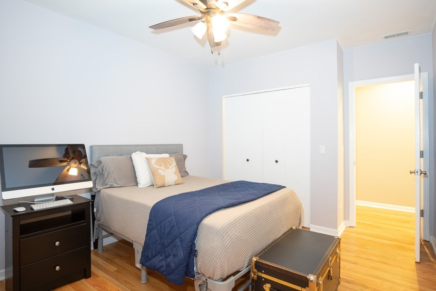 Real Estate Photography - 1136 N Morzart St, Chicago, IL, 60622 - Bedroom