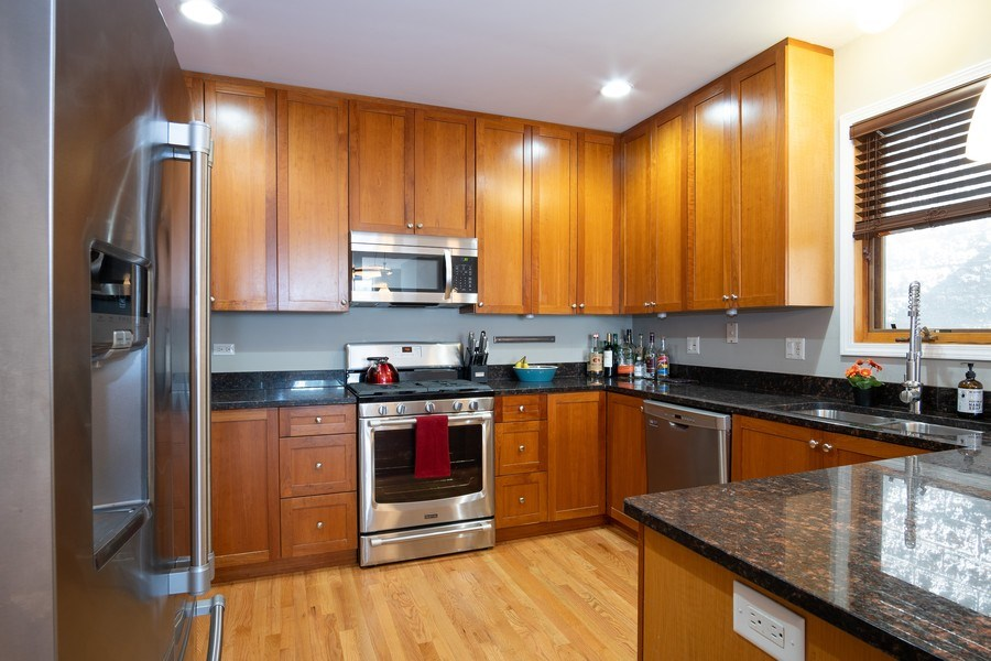 Real Estate Photography - 1136 N Morzart St, Chicago, IL, 60622 - Kitchen