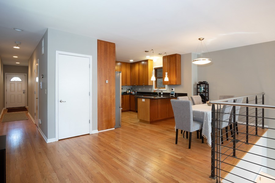 Real Estate Photography - 1136 N Morzart St, Chicago, IL, 60622 - Kitchen/Dining