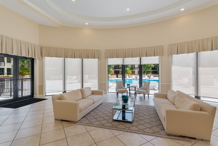 Real Estate Photography - 55 Merrick Way, Apt 503, Coral Gables, FL, 33134 - Entertainment Room