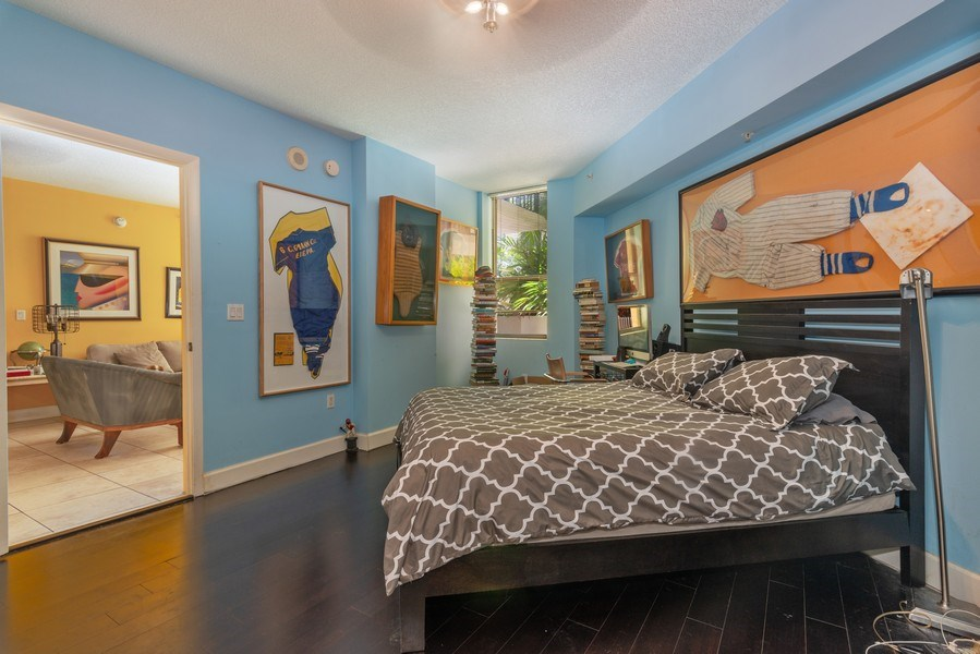 Real Estate Photography - 55 Merrick Way, Apt 503, Coral Gables, FL, 33134 - Master Bedroom