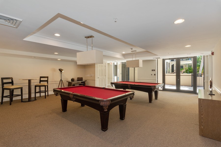 Real Estate Photography - 55 Merrick Way, Apt 503, Coral Gables, FL, 33134 - Recreational Room