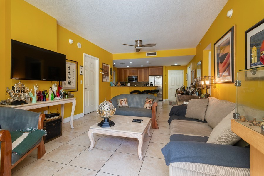 Real Estate Photography - 55 Merrick Way, Apt 503, Coral Gables, FL, 33134 - Great Room