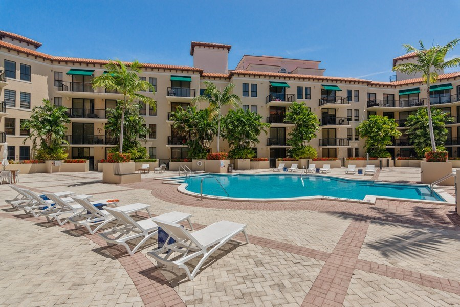 Real Estate Photography - 55 Merrick Way, Apt 503, Coral Gables, FL, 33134 - Pool