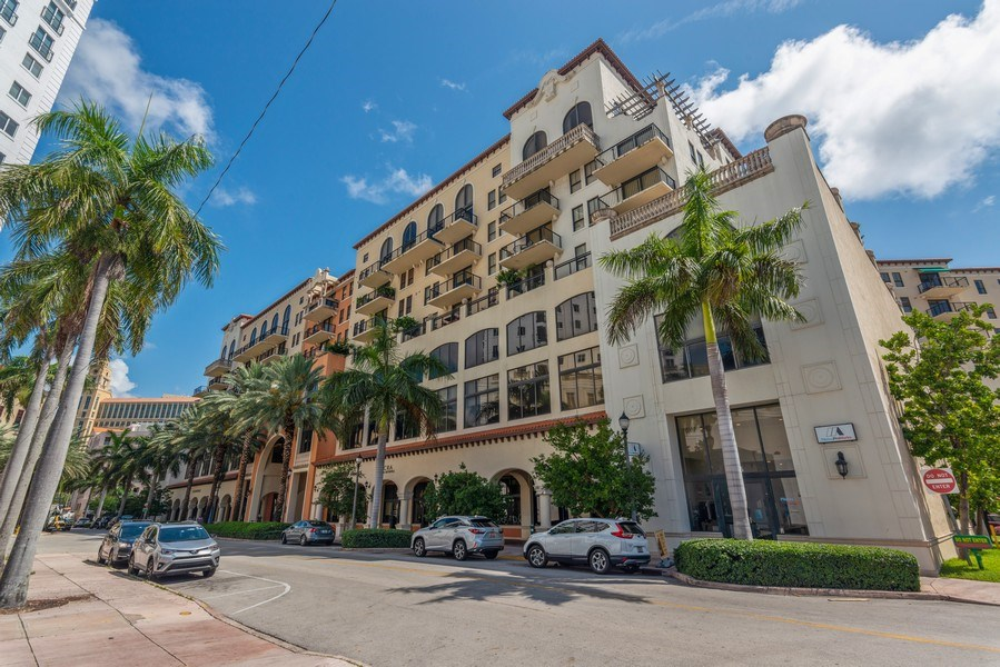 Real Estate Photography - 55 Merrick Way, Apt 503, Coral Gables, FL, 33134 - Front View