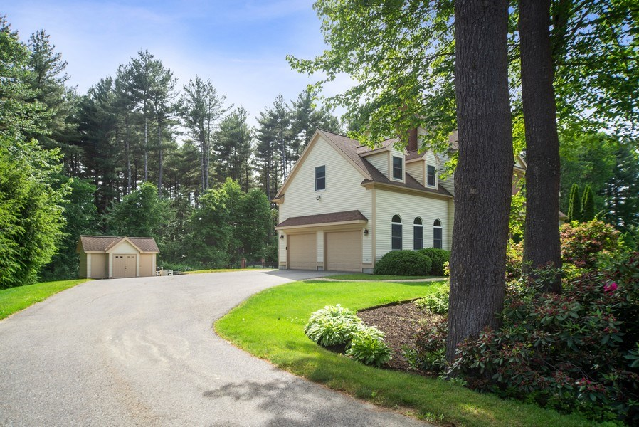 Real Estate Photography - 20 Autumn Ln, Bolton, MA, 01740 - Side View