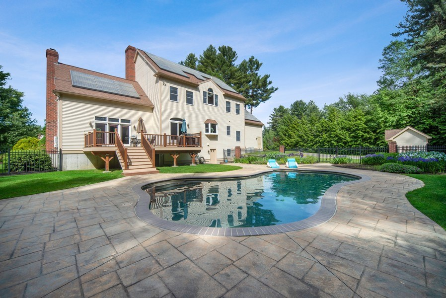 Real Estate Photography - 20 Autumn Ln, Bolton, MA, 01740 - Rear View