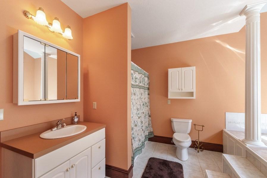 Real Estate Photography - 20 Autumn Ln, Bolton, MA, 01740 - 2nd Bathroom