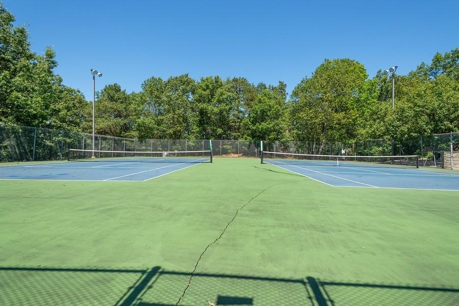 Real Estate Photography - 3 Pomeroy Court, Jackson, NJ, 08527 - Tennis Court