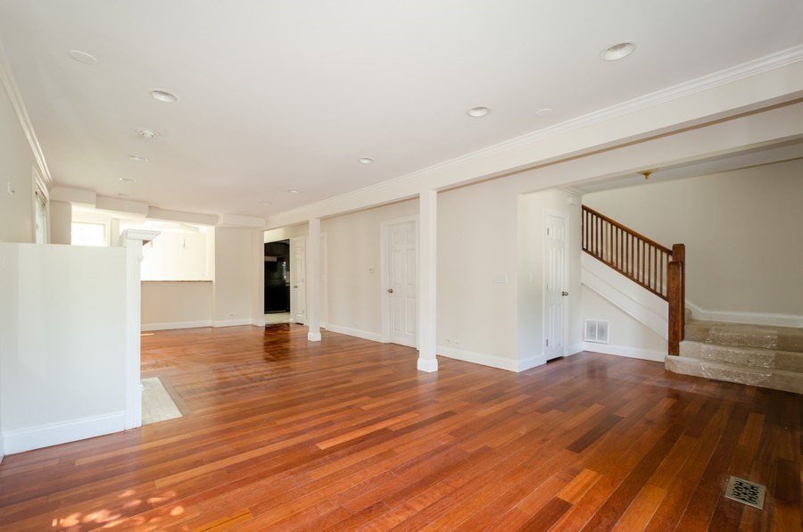 Real Estate Photography - 2026 Emerson Street, Evanston, IL, 60201 - Living Room