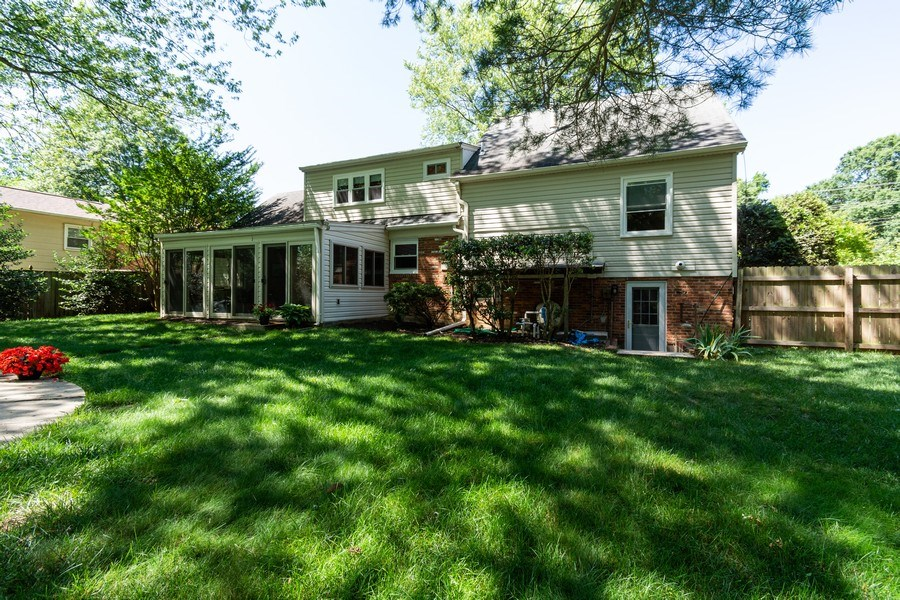 Real Estate Photography - 1911 Cool Spring Drive, Alexandria, VA, 22308 - Rear View
