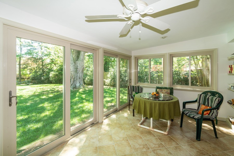 Real Estate Photography - 1911 Cool Spring Drive, Alexandria, VA, 22308 - Sunroom