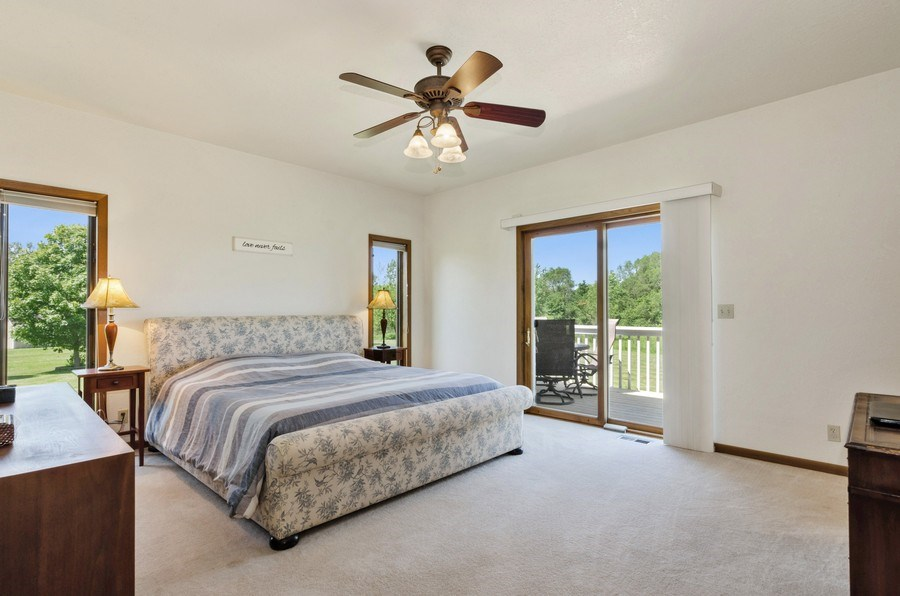 Real Estate Photography - 17801 Springbrook Circle, Union, IL, 60180 - Master Bedroom