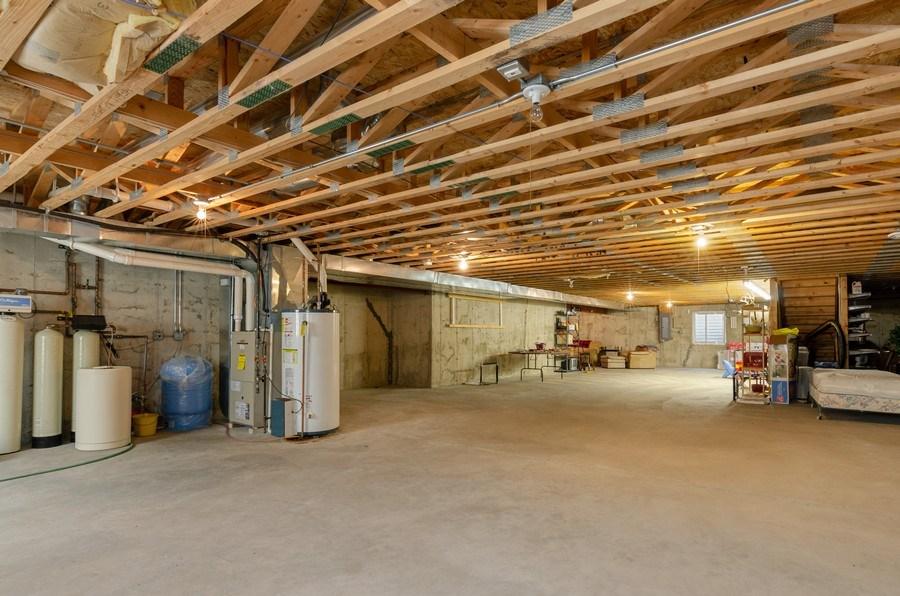 Real Estate Photography - 17801 Springbrook Circle, Union, IL, 60180 - Basement