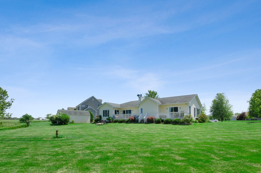 Real Estate Photography - 17801 Springbrook Circle, Union, IL, 60180 - Rear View