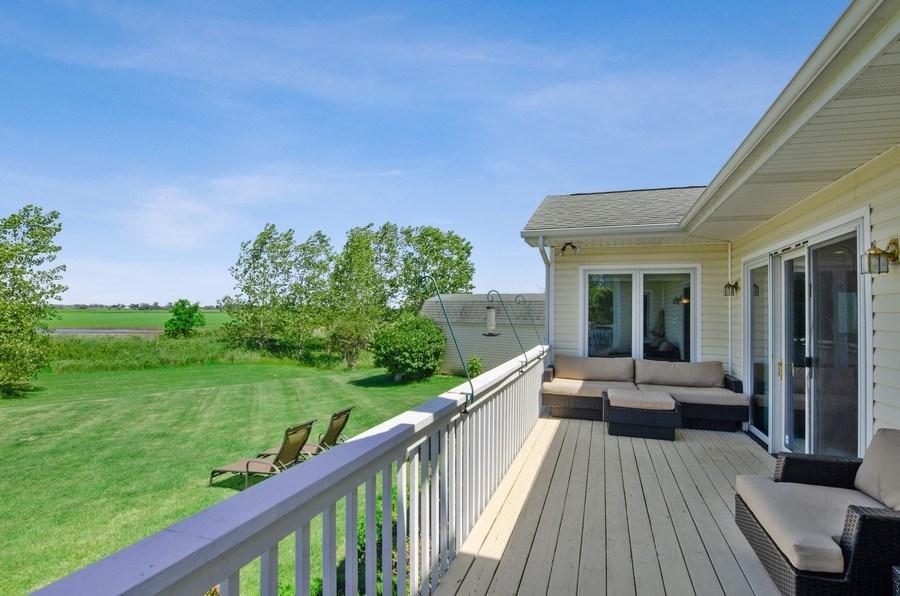 Real Estate Photography - 17801 Springbrook Circle, Union, IL, 60180 - Deck