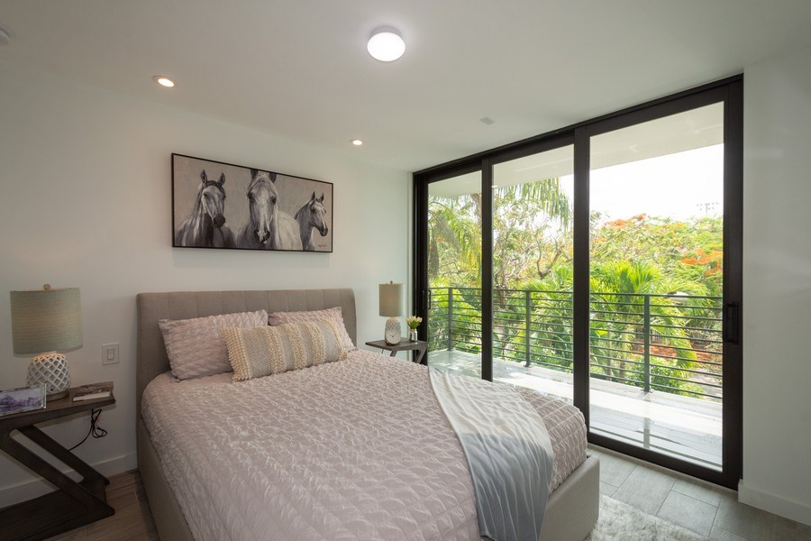 Real Estate Photography - 722 NE 15th Ave #1, Fort Lauderdale, FL, 33304 - 2nd Bedroom