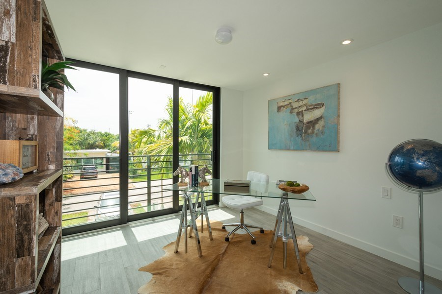 Real Estate Photography - 722 NE 15th Ave #1, Fort Lauderdale, FL, 33304 - 4th Bedroom