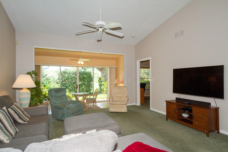 Real Estate Photography - 1070 Marblehead Dr, Naples, FL, 34104 - Living Room