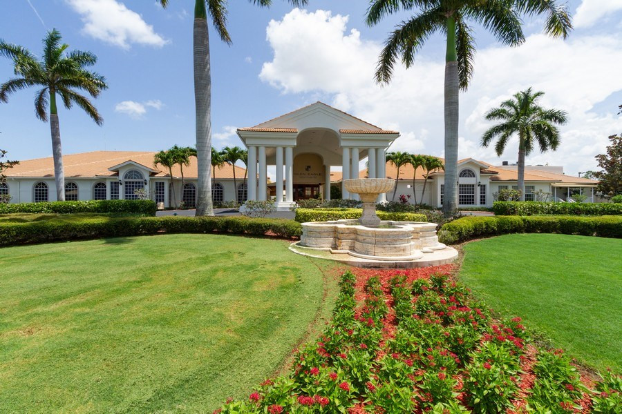 Real Estate Photography - 1070 Marblehead Dr, Naples, FL, 34104 - Clubhouse