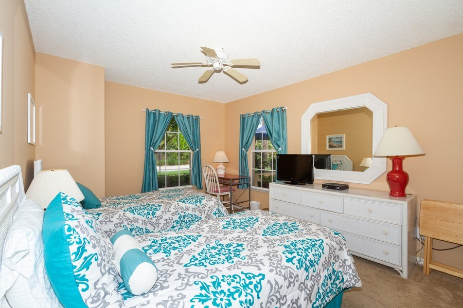 Real Estate Photography - 1070 Marblehead Dr, Naples, FL, 34104 - 2nd Bedroom