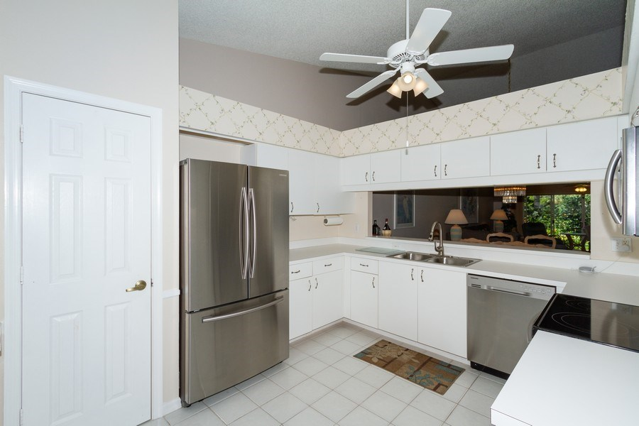 Real Estate Photography - 1070 Marblehead Dr, Naples, FL, 34104 - Kitchen