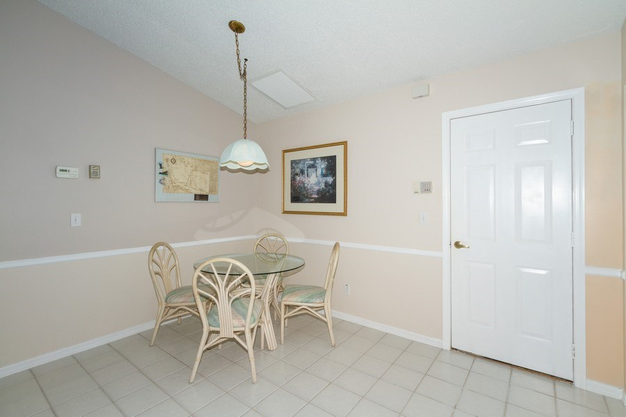 Real Estate Photography - 1070 Marblehead Dr, Naples, FL, 34104 - Breakfast Nook