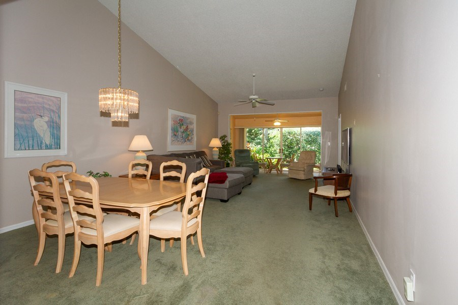 Real Estate Photography - 1070 Marblehead Dr, Naples, FL, 34104 - Living Room / Dining Room