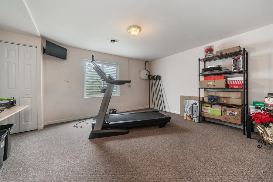 Real Estate Photography - 583 Donna Ave, Aurora, IL, 60505 - 5th bedroom or Excerise Room