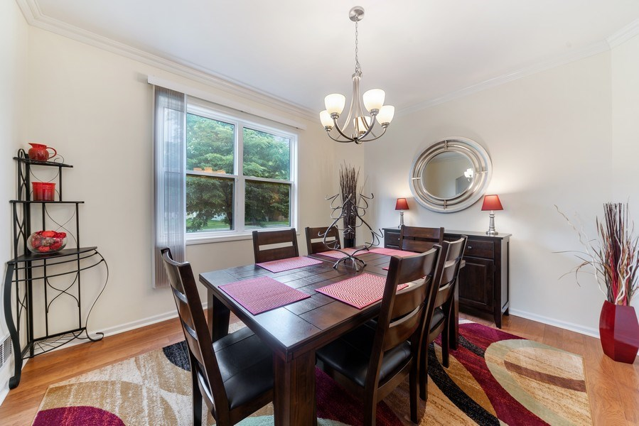 Real Estate Photography - 583 Donna Ave, Aurora, IL, 60505 - Dining Room