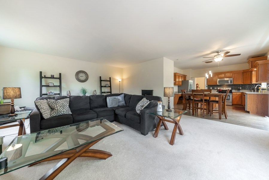 Real Estate Photography - 583 Donna Ave, Aurora, IL, 60505 - Family Room