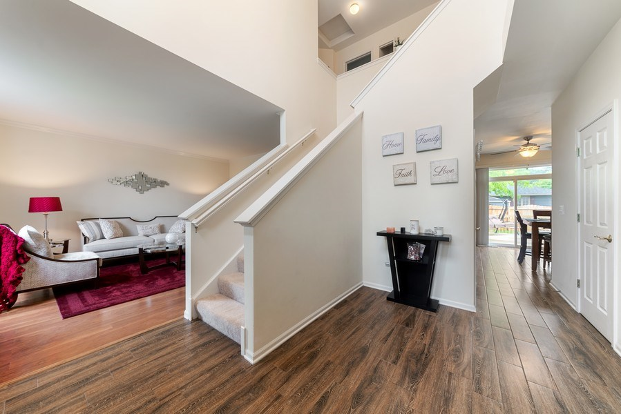 Real Estate Photography - 583 Donna Ave, Aurora, IL, 60505 - Foyer