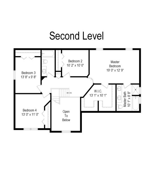 Real Estate Photography - 583 Donna Ave, Aurora, IL, 60505 - Floor Plan