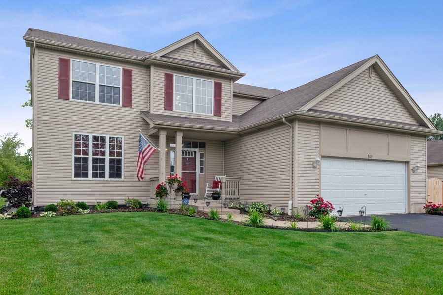 Real Estate Photography - 583 Donna Ave, Aurora, IL, 60505 - Front View