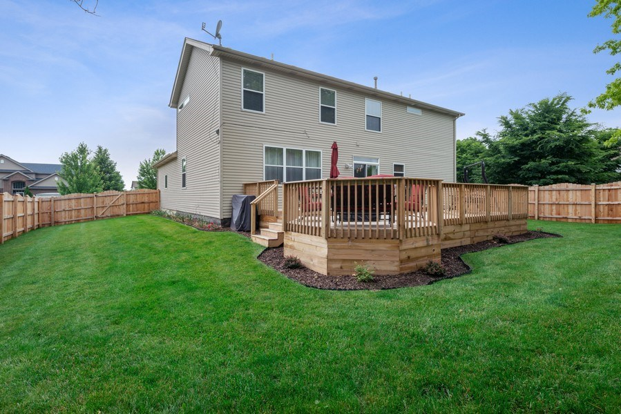 Real Estate Photography - 583 Donna Ave, Aurora, IL, 60505 - Rear View
