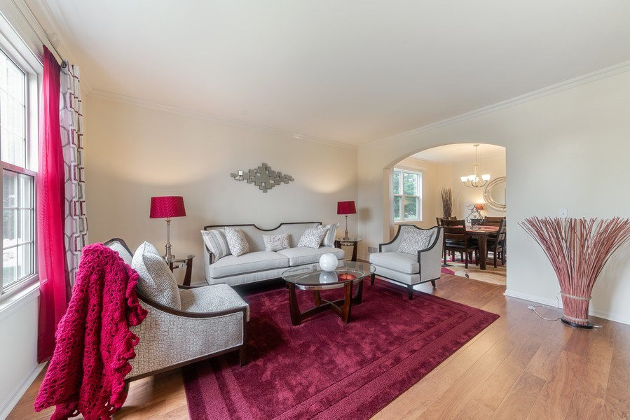 Real Estate Photography - 583 Donna Ave, Aurora, IL, 60505 - Living Room / Dining Room