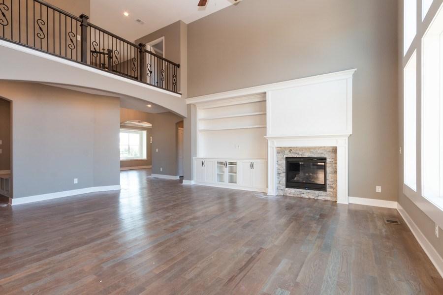 Real Estate Photography - 21601 W 93rd Ter, Lenexa, KS, 66220 - Living Room