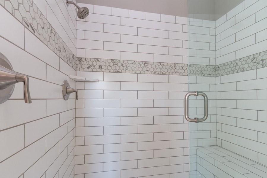 Real Estate Photography - 21601 W 93rd Ter, Lenexa, KS, 66220 - Master Bathroom