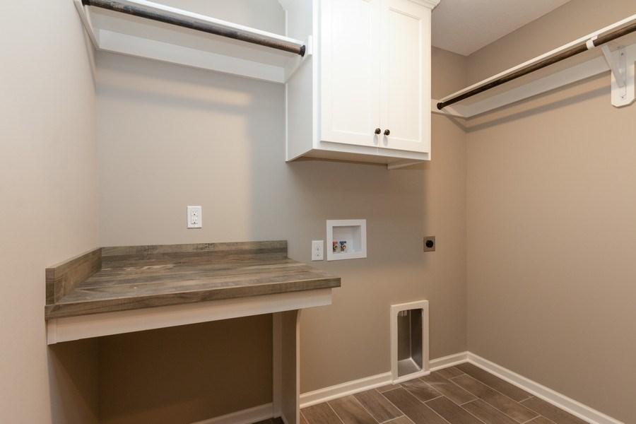 Real Estate Photography - 21601 W 93rd Ter, Lenexa, KS, 66220 - Laundry Room