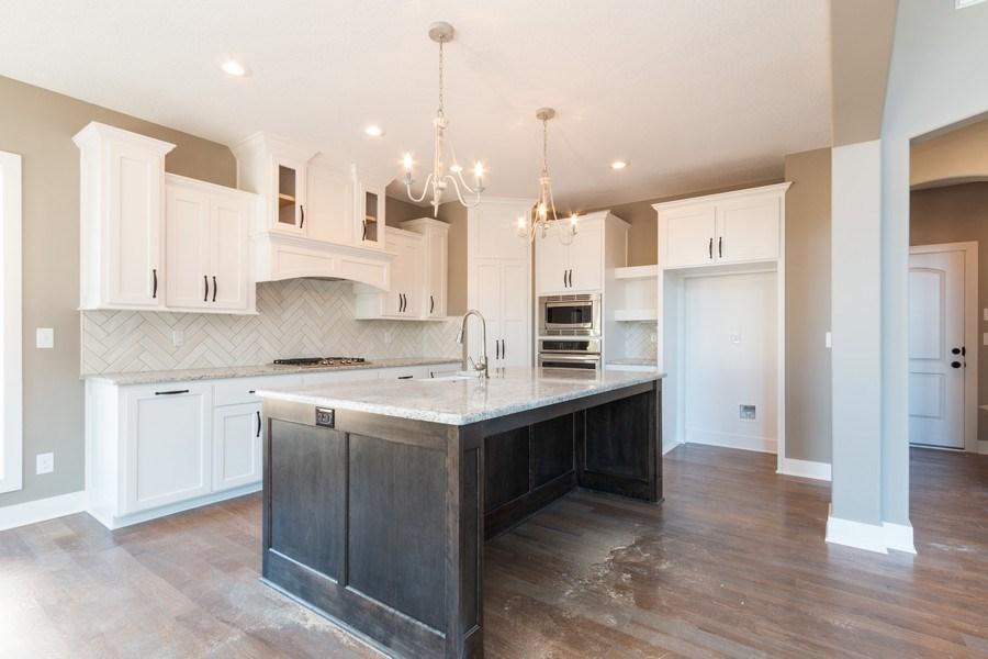 Real Estate Photography - 21601 W 93rd Ter, Lenexa, KS, 66220 - Kitchen