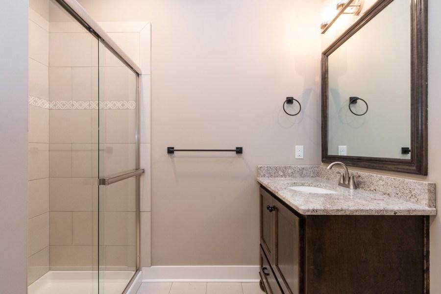 Real Estate Photography - 21601 W 93rd Ter, Lenexa, KS, 66220 - Bathroom